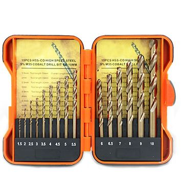 13 STÜCK TWIST DRILL SET (3)