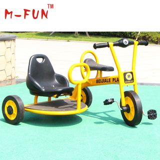 Three-wheel metal tricycle for kids