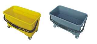 Utility Bucket with Gray and Yellow Color (YG-83)