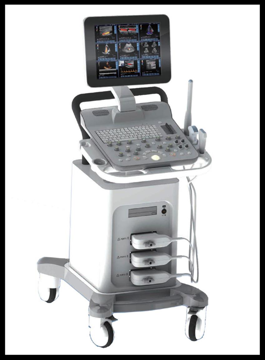 Medical Equipment 4D Color Doppler Ultrasound Scanner ...