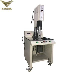 Digital Display Two Generators UP and Down Vibration Ultrasonic Plastics Double Sides Welding Machine