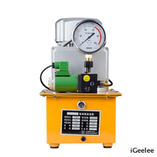 Portable Single Action Motor Oil Pump ZCB-700D Can Match Any Hydraulic Crimping Head Or Cutting Head