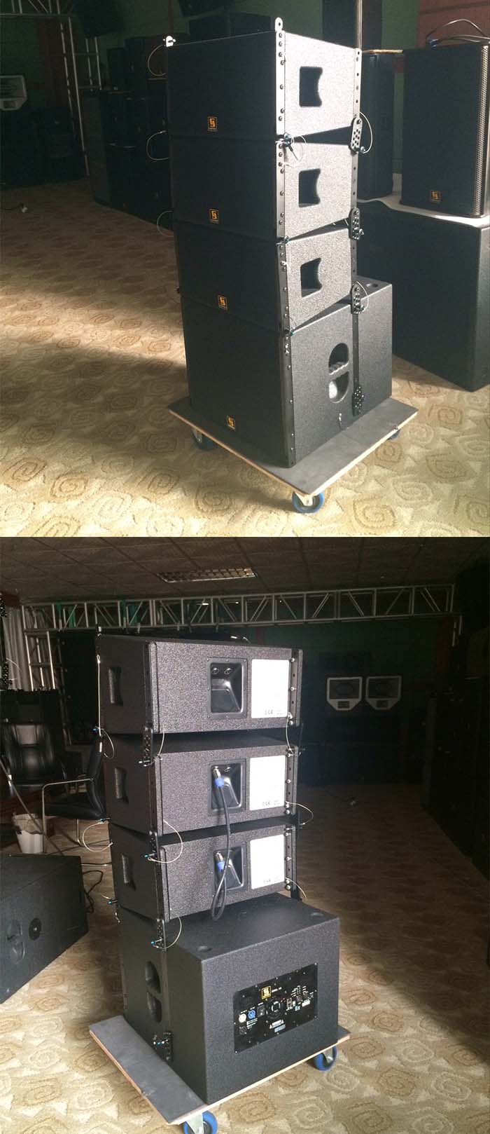 VR10&S15 Compact Active Line Array System