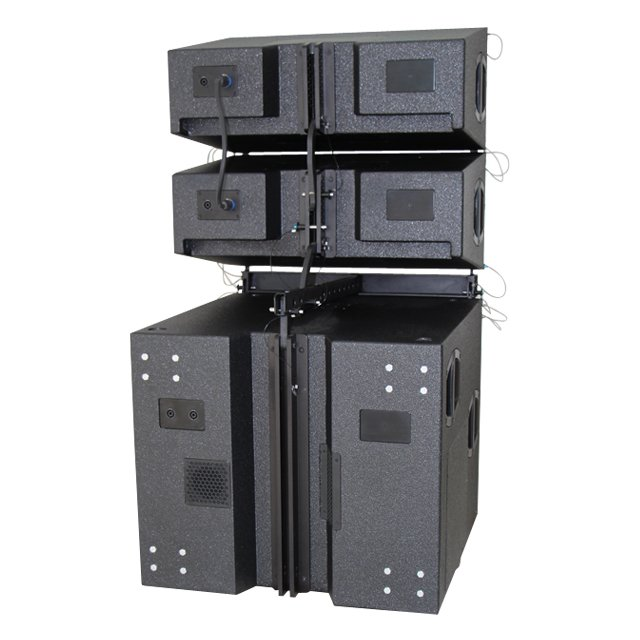 V8V-SUB line array system rear panel