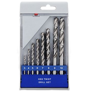 8PCS TWIST DRILL SET