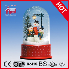 (P23036-3S2) Snowmen Family Christmas Gift with Transparent Case