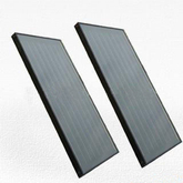 Flat Panel Solar Collector Black Chrome Type (SPFP -G/0.6- AL/ZH- IV)