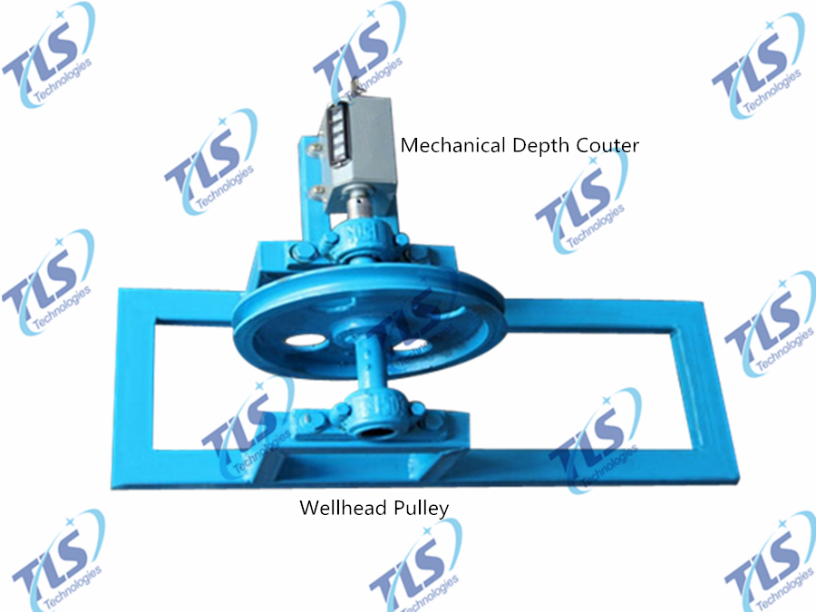 Mechanical Depth Counter of Winch for Borehole Inspection Camera System-1