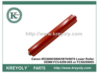 High Quality Lower Fuser Roller for Canon IRC5800 IRC6800 5870U 6870U FC5-6299-005