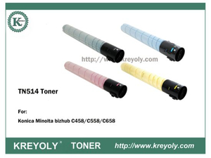 TN514 TONER FOR Bizhub C458/C558/C658
