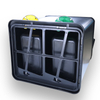 2in1 Pedal waste can with stainless steel (KL-017)
