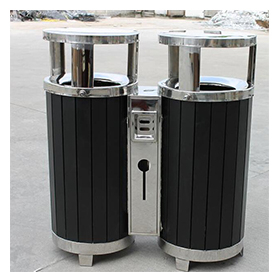 Wooden Outdoor Dustbin for Garden and street HW-304