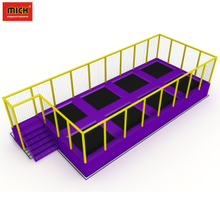 Commercial indoor trampoline amusement park children bungee games