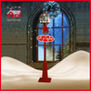 (LV30175S-RJR11) Red Color 175cm Height Christmas Tree Decorative Street Light