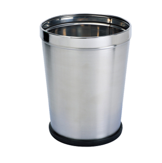 Guestroom Waste Bin with stainless steel KL-008D