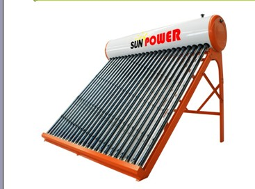 non-pressurized solar water heating system