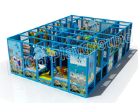 Mich Funny Indoor Amusement Playground 6610B