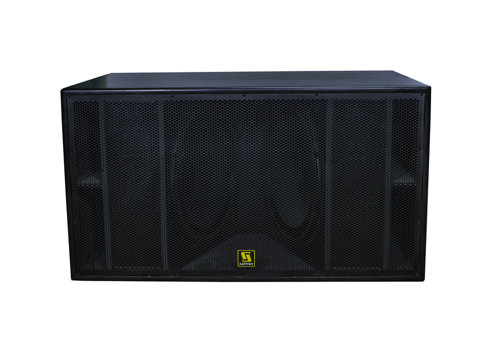 L-8028 Dual 18 Zoll High Power Pro Subwoofer Box
