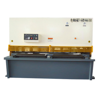 QC12Y-25X2500 25mm Thickness 2.5m Length Hydraulic Swing Beam Electric Shearing Machine