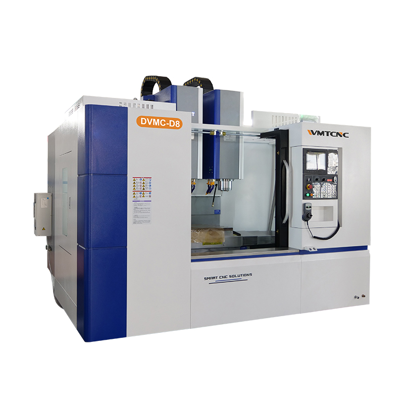 DVMC-D8 Heavy Duty Linear Guideway Vertical Machining Center with Dual Spindle