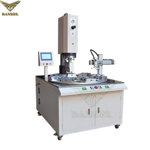 15KHz 4200W Turntable Automatic Ultrasonic PVC PET Blister Clamshell Packaging Welding Sealing Machine with Unloader