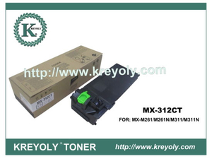 High Quality Copier Toner for Sharp MX-312 CT/FT/T/NT/AT