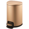 Home Use Stainless Steel Half- Round Shape Lid Pedal Waste Bin (20 L/KL-031)