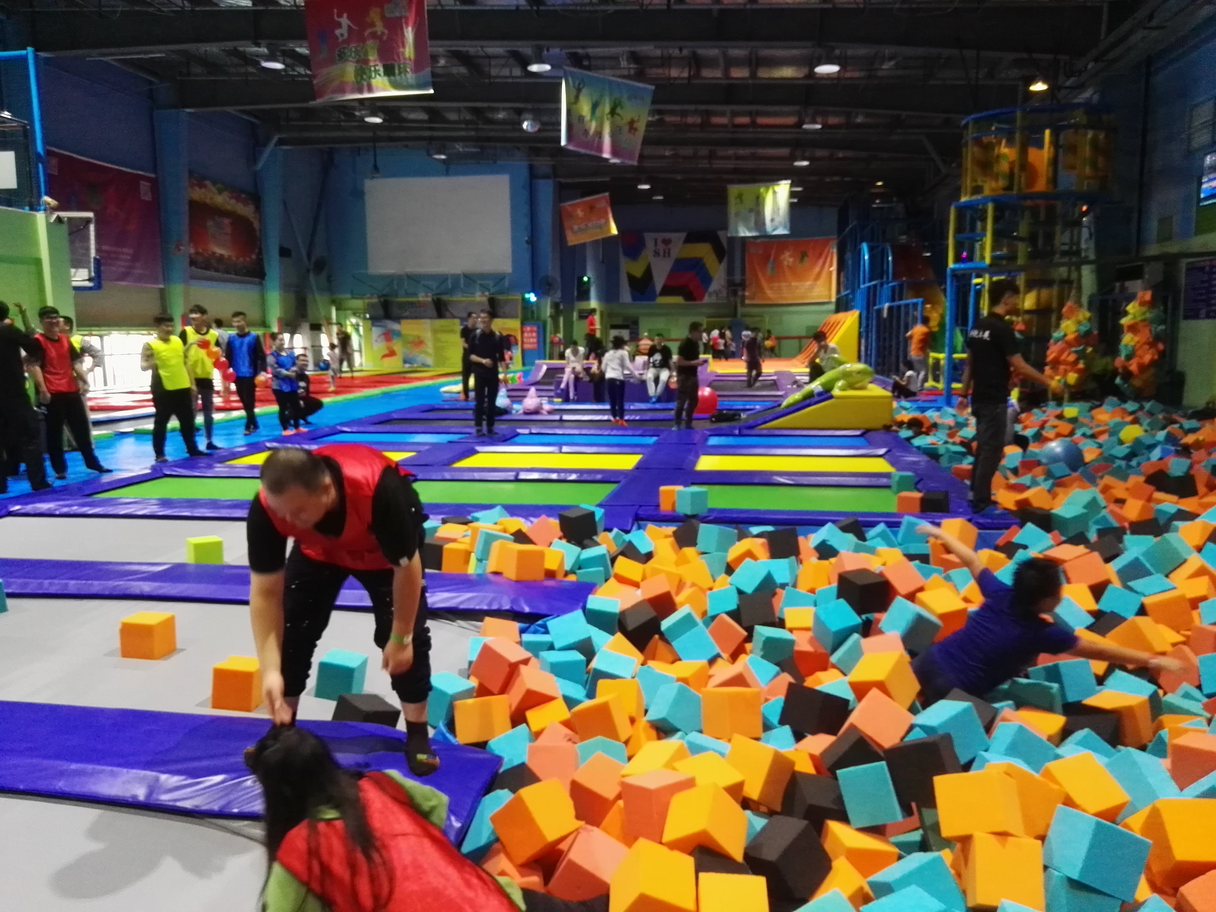 How to care and maintenance the trampoline park?