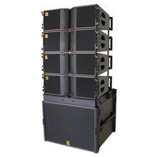 KARA & SB18 Dual 8 inci Two Way Bi-amped Line Array System