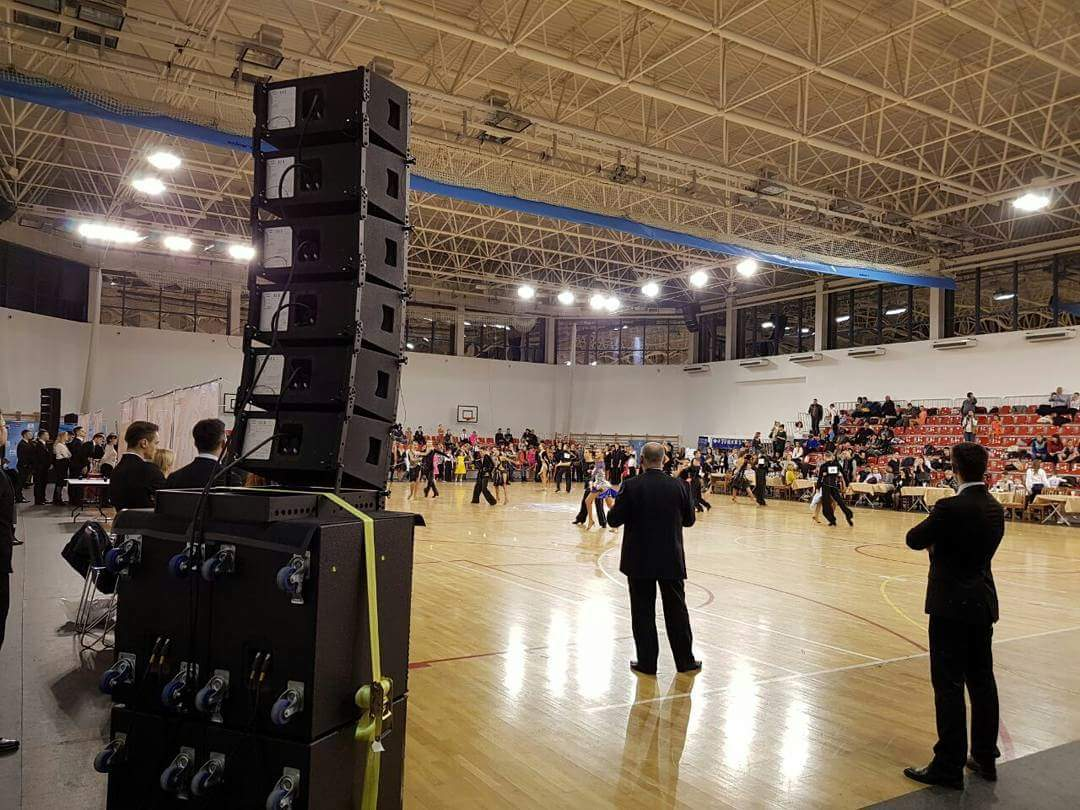 Sanway Speakers and Amplifiers Provided a Unforgettable Sound Experience for a Waltz Dance Competition in Russia 2018