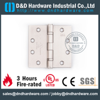 3 Hours Fire-rated Full Mortise Door Hinge for Office Wooden Door with UL Certificate-DDSS002-FR-45453