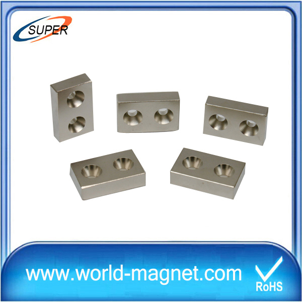 High quality NiCuNi Block Neodymium Magnet