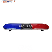 2018 newest dual color ambulance police strobe warning lightbar with 100W siren and speaker
