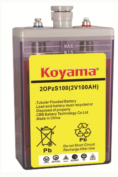 Flooded OPZS Battery