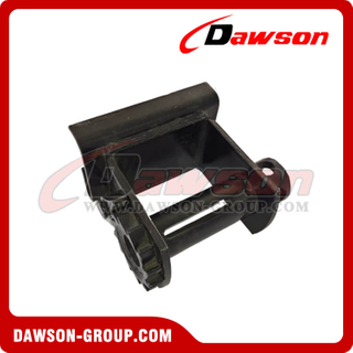 Utility Winch - Weld on or Sliding - Flatbed Truck Winches for Cargo Lashing Straps