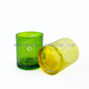 High Quality Empty 400ml Glass Candle Container With Lid