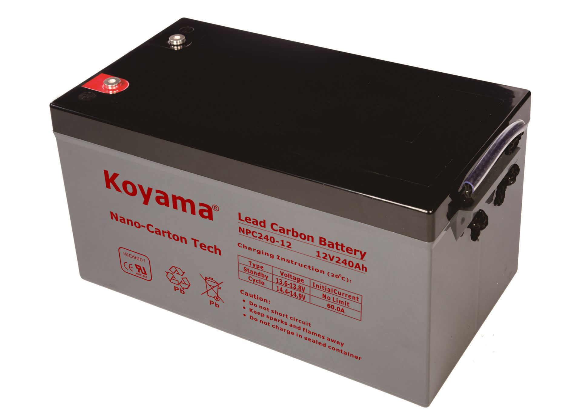 12V 240AH High Quality Deep Cycle Lead Carbon Battery NPC240-12