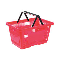 28L Double Handle Shopping Basket B-10