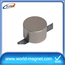 Powerful Ultra Thin Ndfeb Cylinder Magnet
