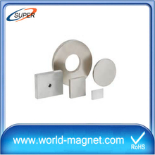 Nickle Plating Neodymium Ring Magnet