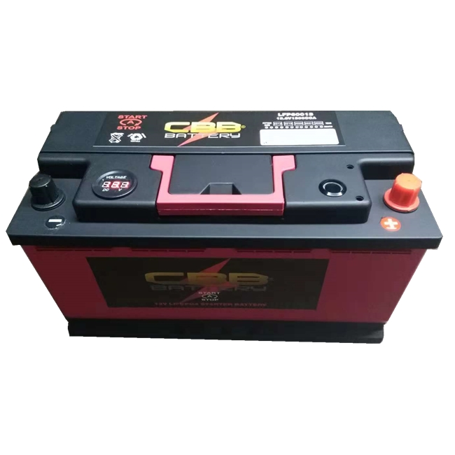 12.8V 60ah LiFePO4 Lithium Battery Rechargeable Powerfull Car Battery LFP60013
