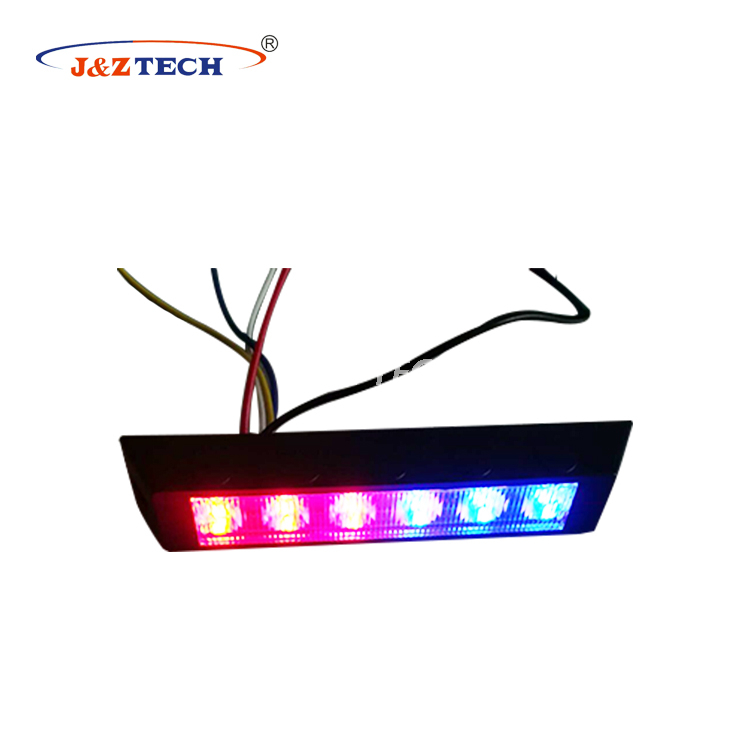 Durable 6 LEDs Car Roof Warning Light Led Police Strobe Light