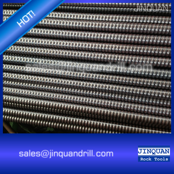hollow grouting all thread self drilling anchor bolt