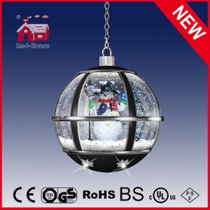(LH30033H-HS01) Black Classic Snow Flakes LED Lights Hanging Lamp for Decoration
