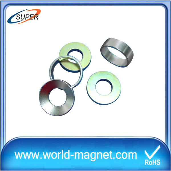 Hot sale power clean up neodymium ring monopole magnet