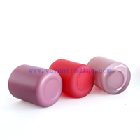 Low Price Low MOQ Promotion 12oz Customized Red Pink Color Empty Glass Jars for Candle Making