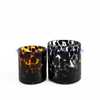 8oz 14oz Cylinder Empty Mixed Color Glass Candle Holder