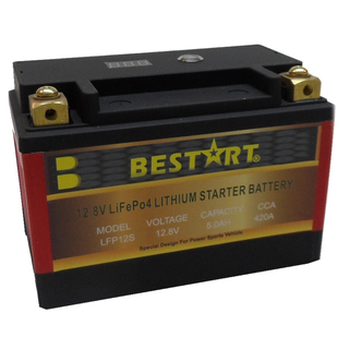 12.8V 5ah Lithium Ion Battery LFP Battery for Motorcycle LFP12S