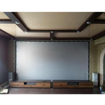 Rear Projection Screen Fabric/Flexible Rear Grey Projector Screen/Custom Size Rear Screen Fabric ,50m Length
