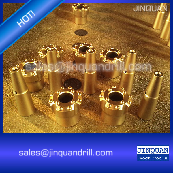T38 Underground Drifting Tools Tunneling Drilling Tools